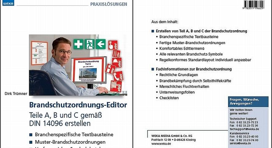 Brandschutzordnungs-Editor - Teil A, B und C (nach DIN 14096)
