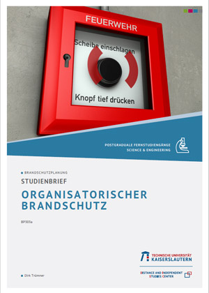 Studienbrief Organisatorischer Brandschutz
