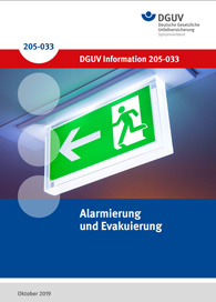 DGUV – Alarmierung und Evakuierung