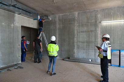Fachbauleitung Brandschutz: Kontrolle von Brandschutzklappen noch in der Bauphase